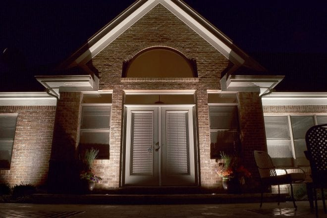 Nashville Security Enhanced with Outdoor Security Lighting Business