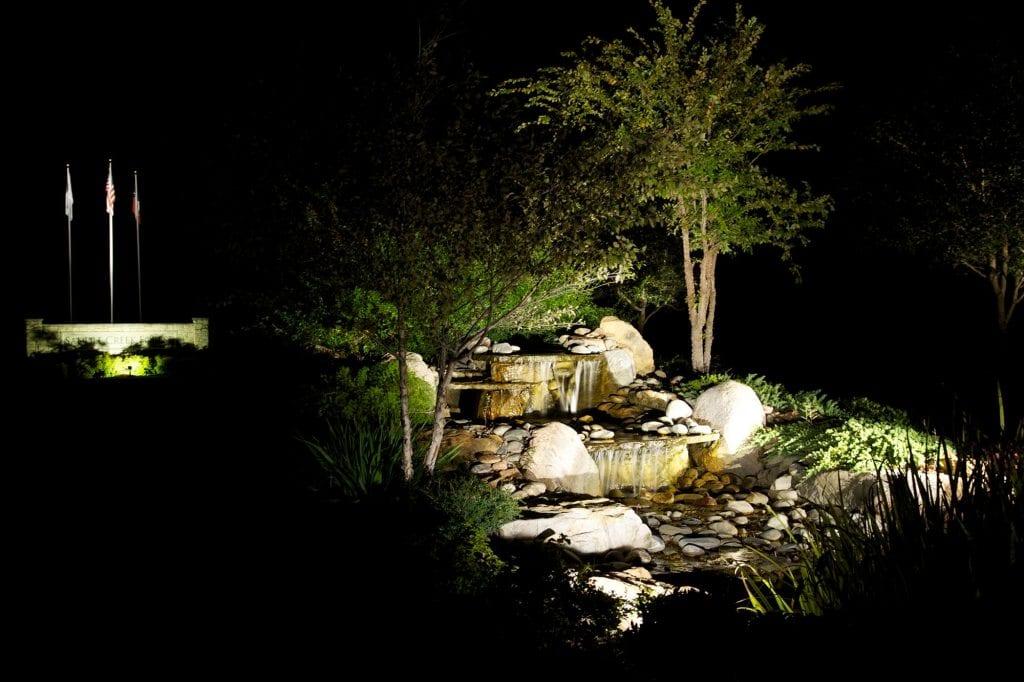 Philadelphia Landscape Lighting