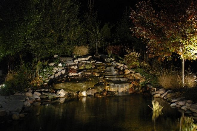 Benefits of Adding Lighting to Outdoor Water Features