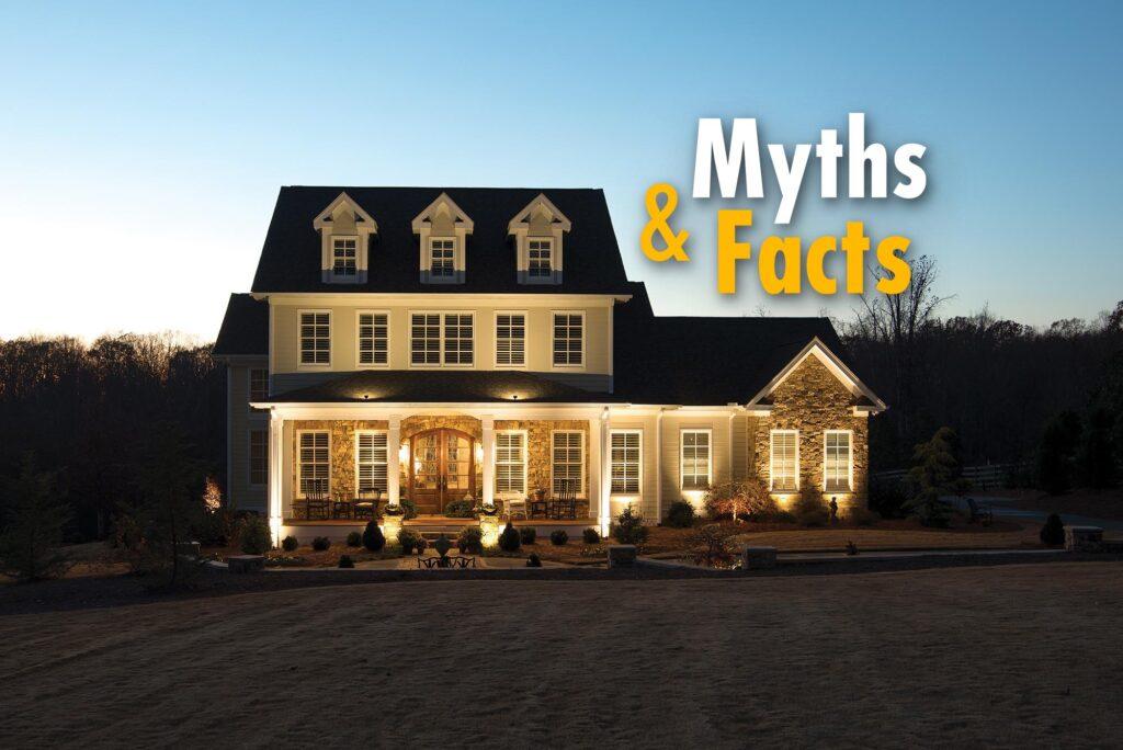 Outdoor Lighting Myths